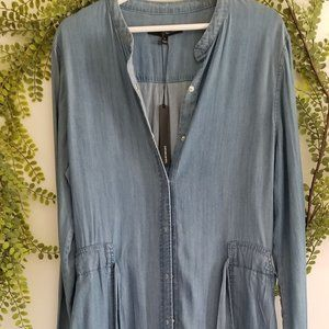 Harve Benard Blue Jean Dress Size L